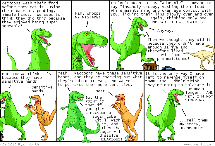 Dinosaur Comics September 24th 2010 Awesome Fun Times