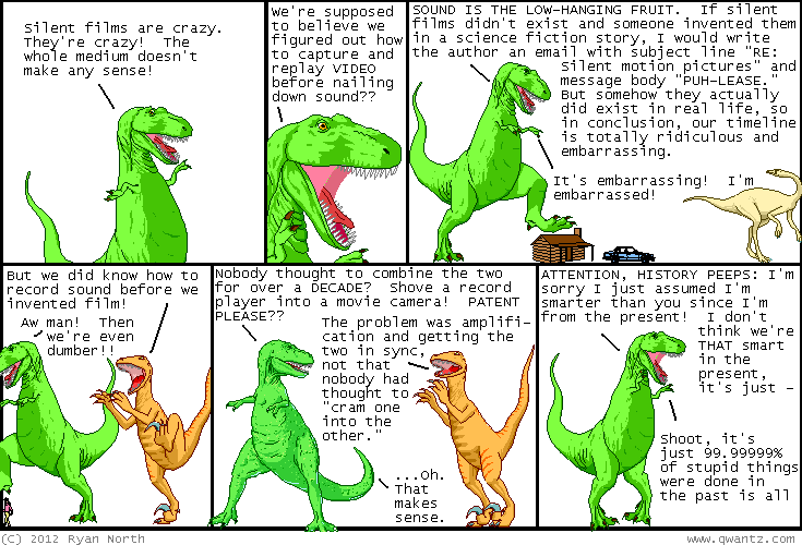 Read Dinosaur Comics!