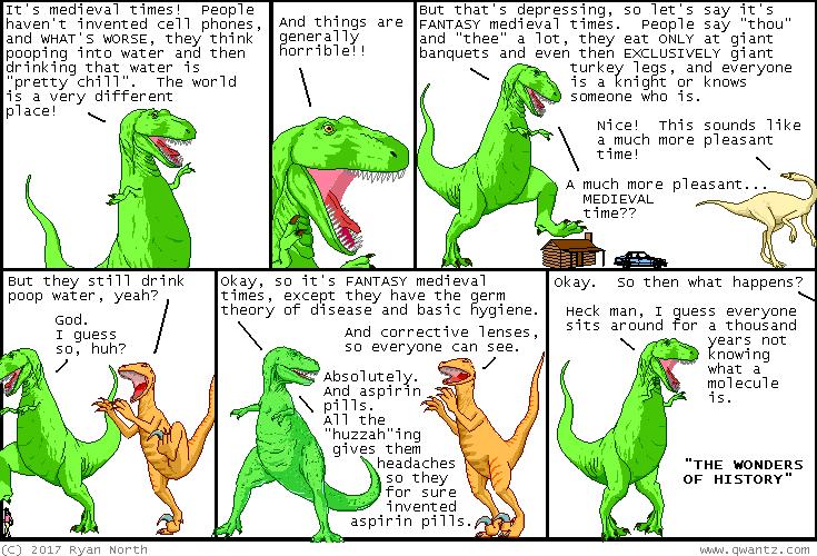 Dinosaur Comics!