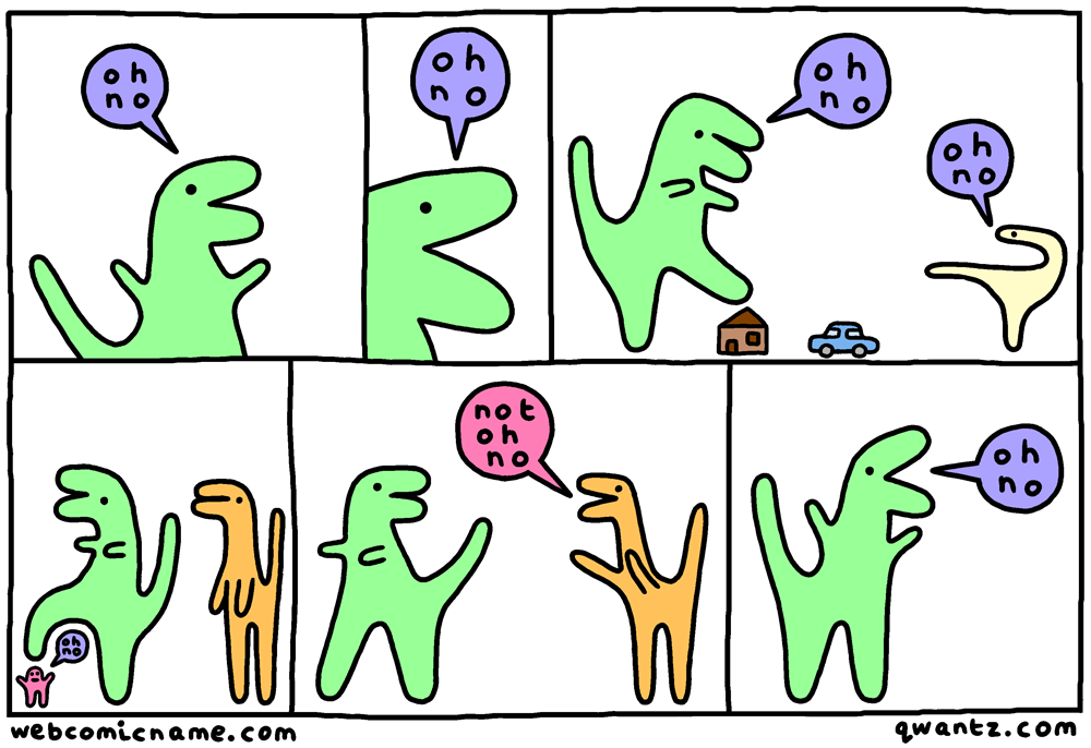 special guest comic by  Alex Norris of Webcomic Name !